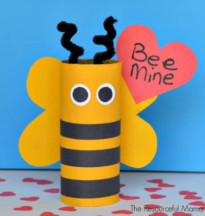 Bee Mine Valentine S Day Craft Allfreekidscrafts Com