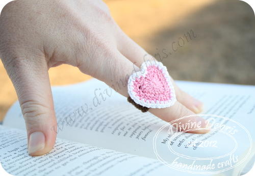 Crochet Heart Ring Allfreecrochet
