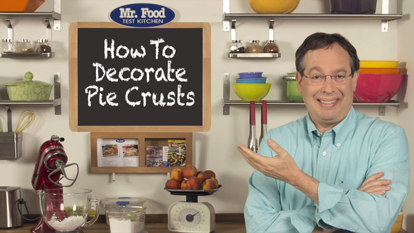 How to Decorate Pie Crusts