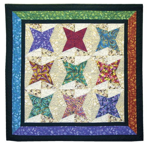 Rising Star Patchwork Quilt Block Favequilts