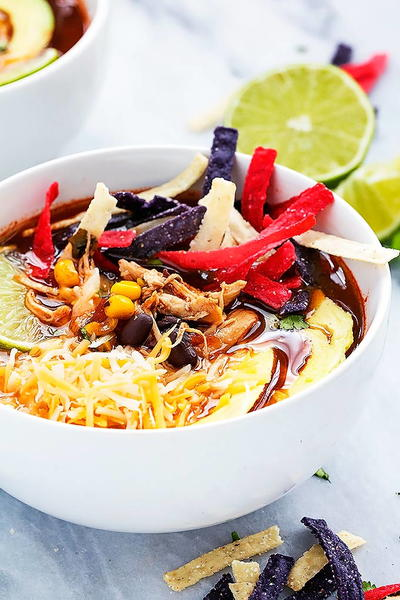 Best of the Best Chicken Tortilla Soup