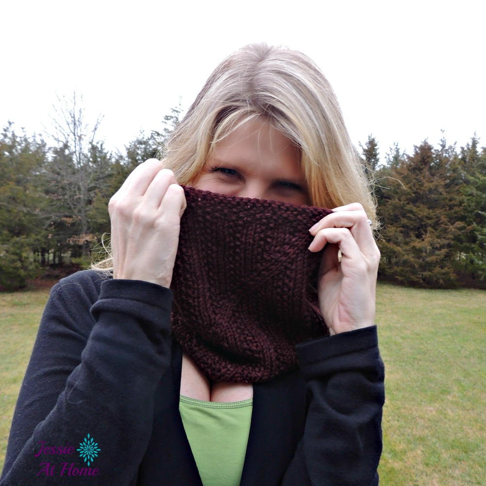 Free Knitting Pattern Twisted Cowl ~ eksposa.com for .
