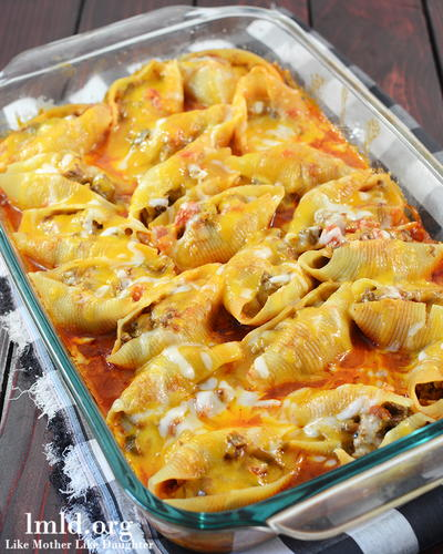Get Stuffed Mexican Stuffed Shells