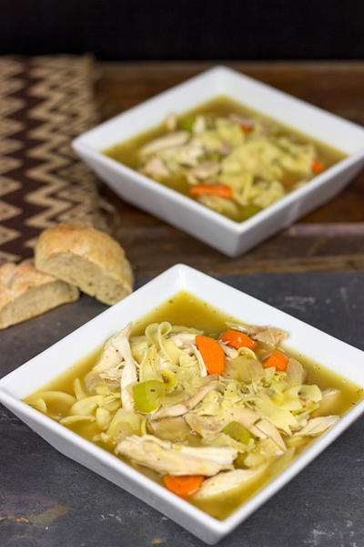 Classic Homemade Chicken Noodle Soup