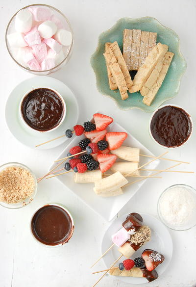 Chocolate Fondue Pots for Two or More