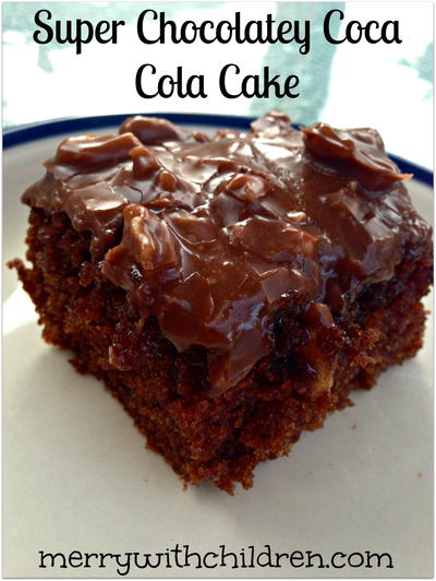 Super Chocolatey Coca Cola Cake