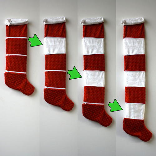 Amazing Expandable Christmas Stocking