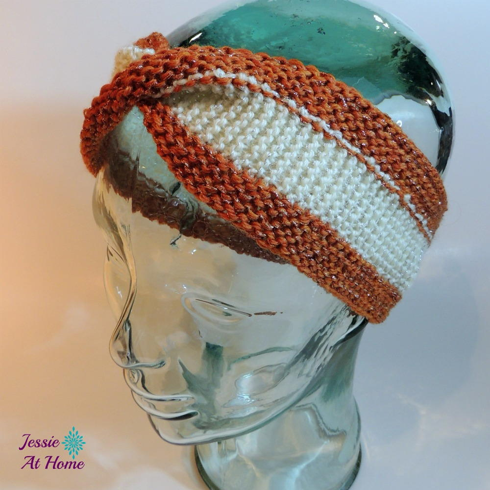 Pick-Up Mobius Ear Warmers | AllFreeKnitting.com