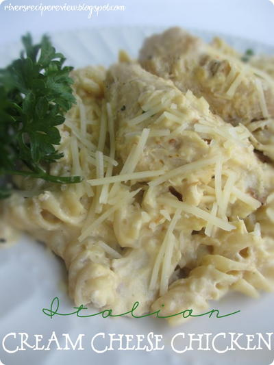 Italian Cream Cheese Chicken