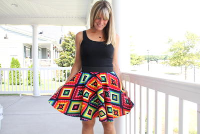 Good Vibrations DIY Circle Skirt