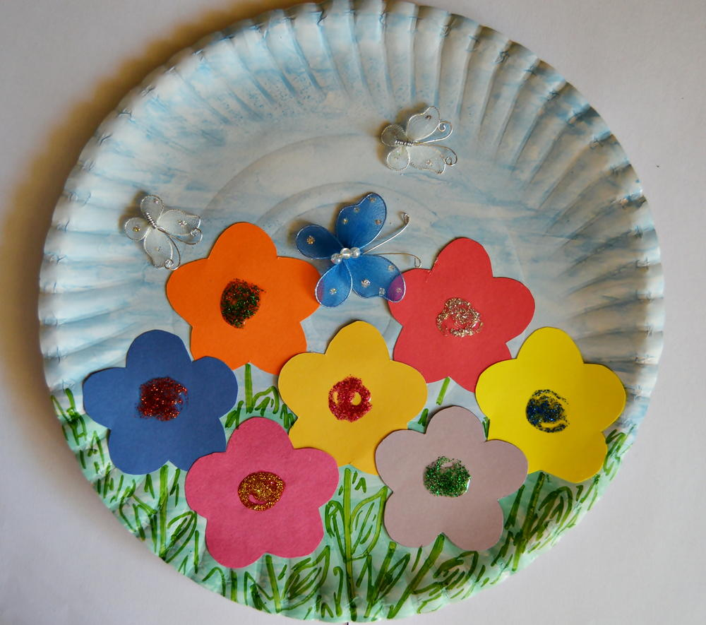 Paper Plate Crafts for Toddlers : paper plates arts and crafts - pezcame.com
