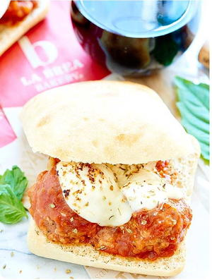 Slow Cooker Meatball Sub