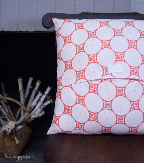 Simple Envelope Pillowcase Pattern