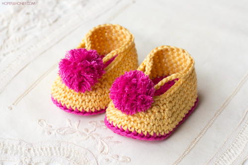 Lollipop Circus Baby Booties