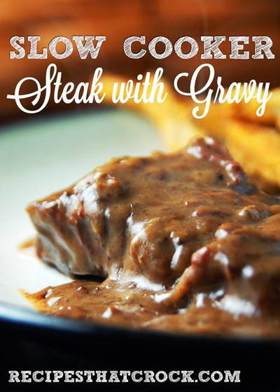 Four Ingredient Steak with Gravy