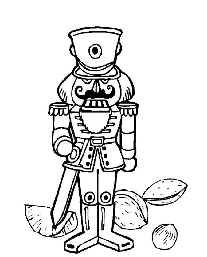 Nutcracker, Bells, and More Christmas Coloring Pages ...