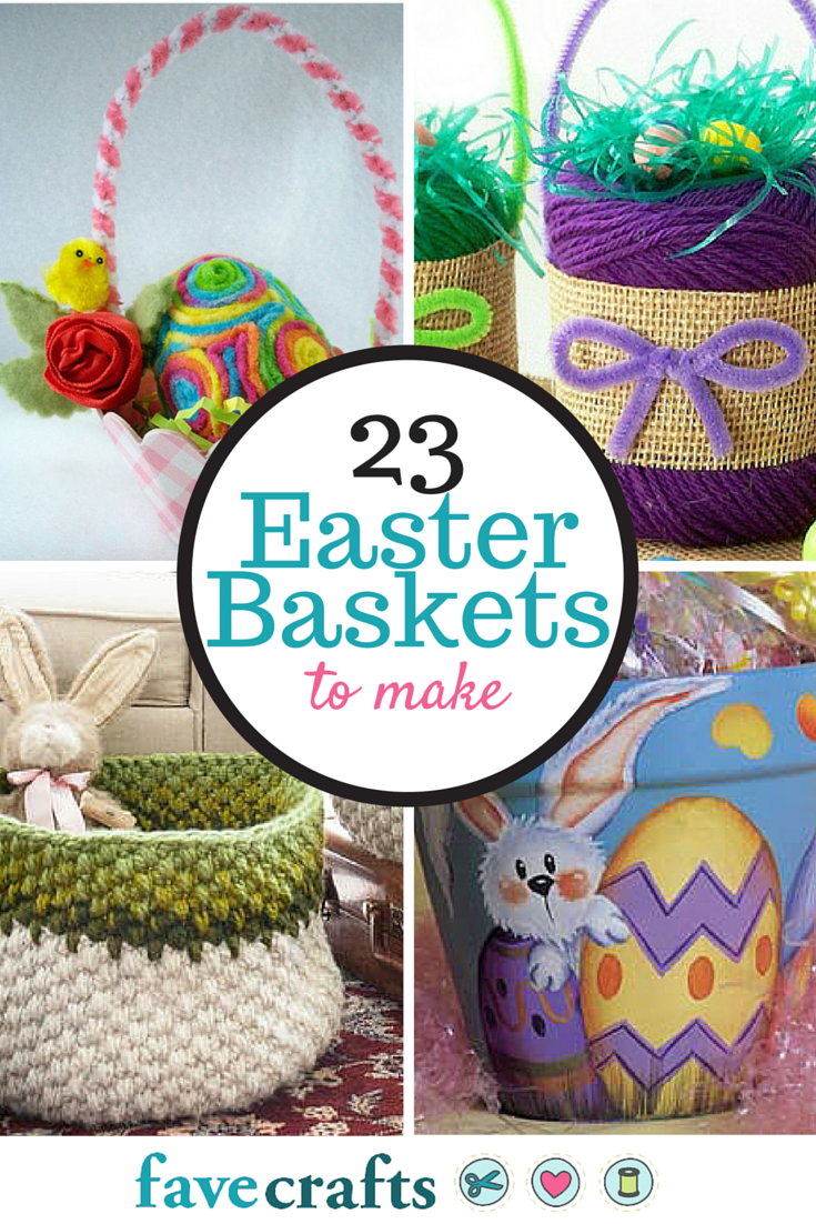 craft ideas for easter gifts 23 easter baskets to make favecrafts 6162