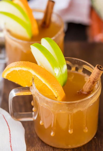 Skinny Caramel Apple Cider