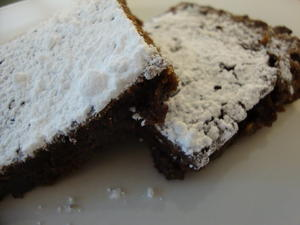 Irish Cream Brownies with Heath