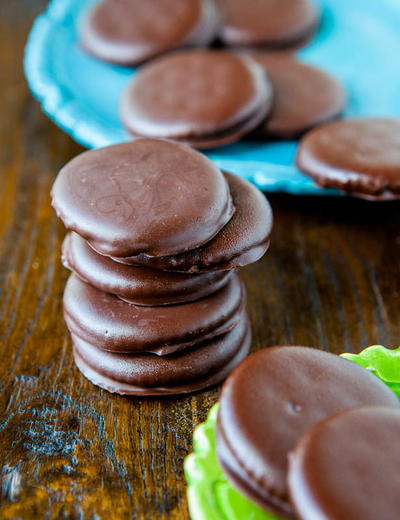 No-Bake Copycat Thin Mints