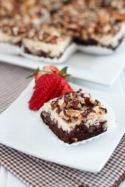 Coconut Magic Brownies