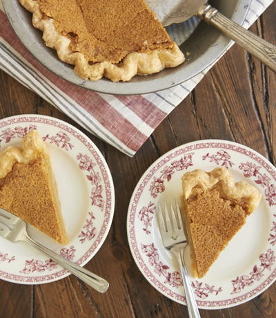 Nana's Brown Butter Chess Pie