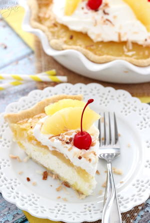 Island Breeze Pina Colada Pie
