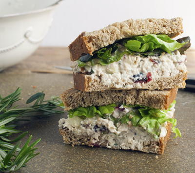Cranberry Pecan Chicken Salad
