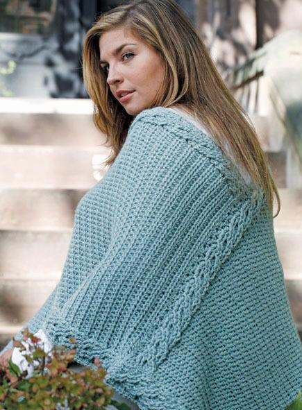 Plus Size Crochet Poncho Pattern | AllFreeCrochet.com