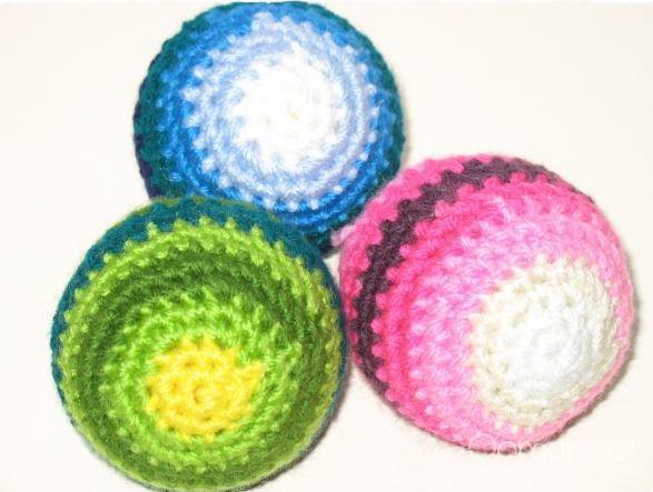 Beginner Crochet Baby Ball Pattern   AllFreeCrochet.com