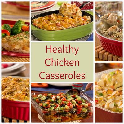 Low Fat Chicken Casserole