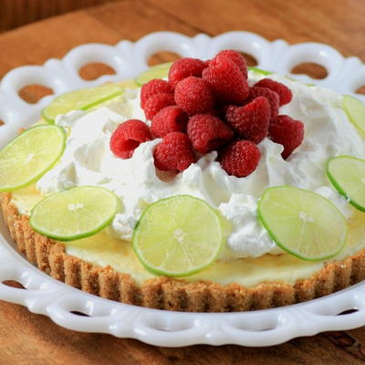 Sweet and Tangy Key Lime Tart