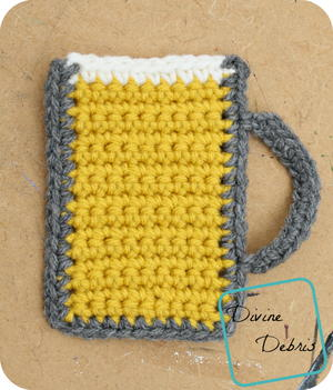 Mug of Beer Applique
