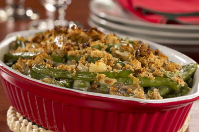 EDR Guiltless Green Bean Casserole