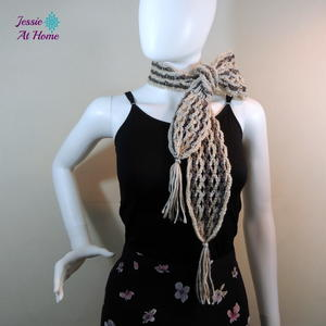 Netties Simple Tassel Scarf
