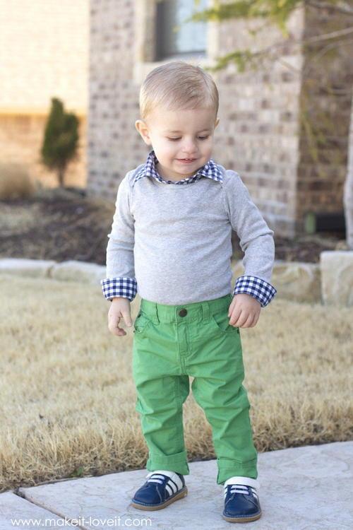 Dapper Boy Diy Baby Clothes Allfreesewing Com