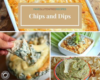 20 Awesome Gluten Free Recipes for Chips and Dips