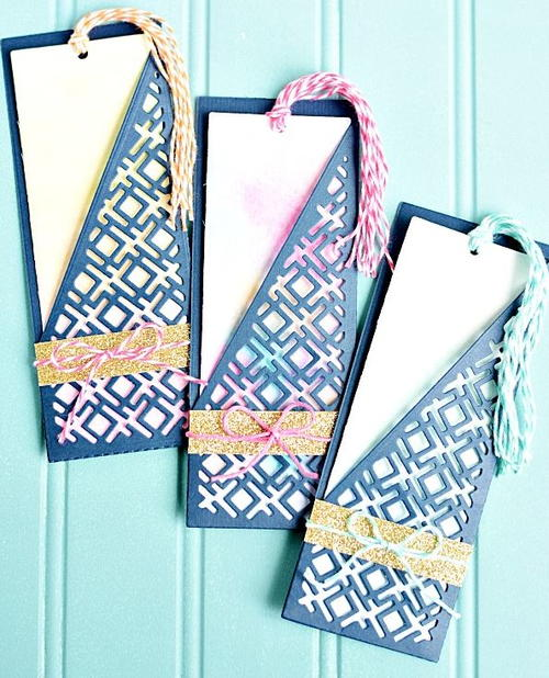 Diy Bookmarks Part - 21: Seriously Pretty Watercolor DIY Bookmarks