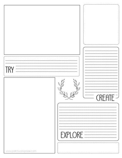 sewing project printable planner allfreesewing com