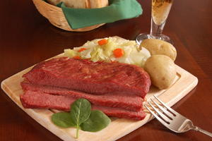 All Day Corned Beef and Cabbage