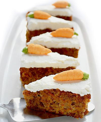 Good-For-You Carrot Cake