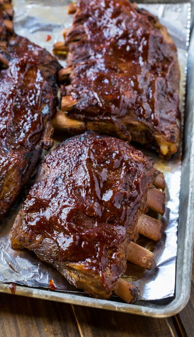 Slow Cooker St Louis-Style Pork Ribs
