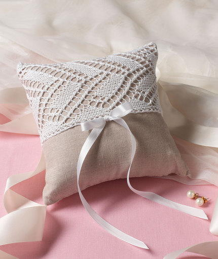Elegant Ring Bearers Pillow