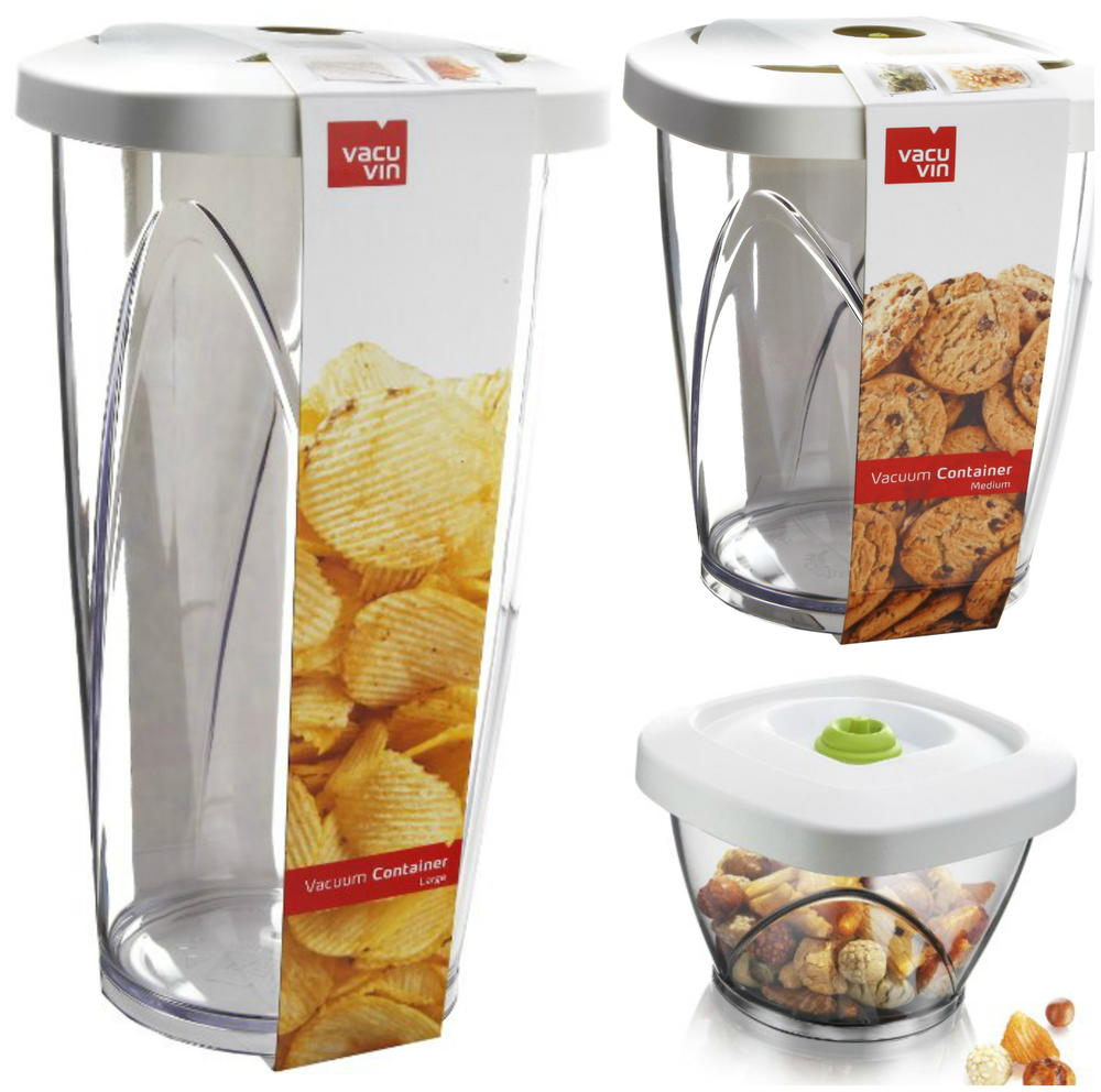 Vacu Vin Vacuum Food Storage Containers Review