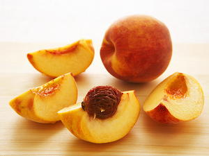 Peaches in Muscat