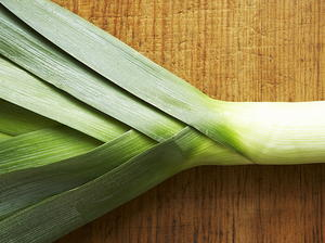 Roast Pencil Leeks