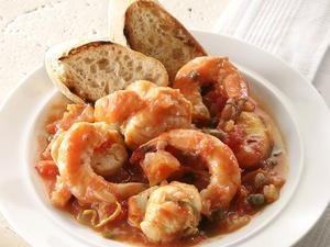 Shellfish and Tomato Stew