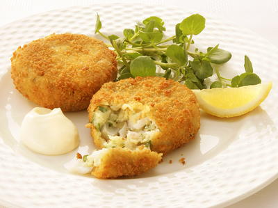 Smoked Haddock and Herb Fishcakes Cookstrcom