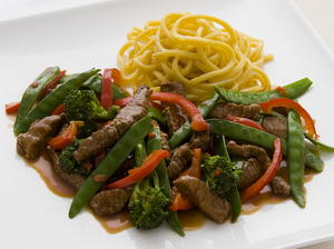 Chinese Chile Beef Stir-Fry