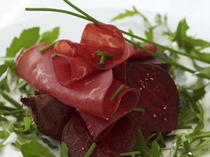 Roasted Beets with Bresaola